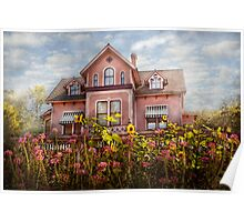 House - Victorian - Summer Cottage  Poster