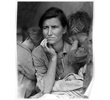 Migrant Mother by Dorthea Lange Poster