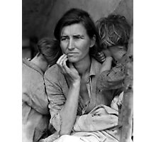 Migrant Mother by Dorthea Lange Photographic Print