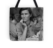 Migrant Mother by Dorthea Lange Tote Bag