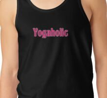 Yogaholic Yoga Exercise Om T-Shirt Sticker Tank Top