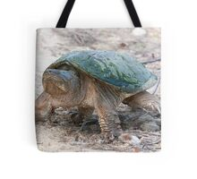 A Momentary Glace - Snapping Turtle Tote Bag