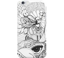 Everything is Connected- by Nadine Staaf Art iPhone Case/Skin