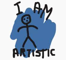 I Am Artistic by 5e10on