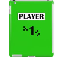 PLAYER 1 iPad Case/Skin