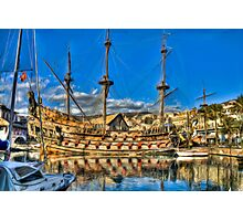 Old Port Galeone Photographic Print