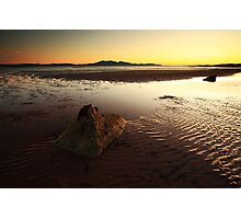 Seamill Sunset Photographic Print