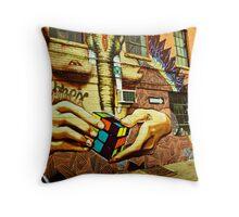 Idol Hands Throw Pillow