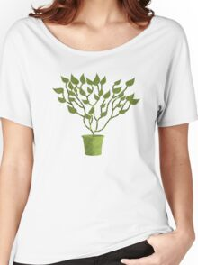Tree Of Life - Green Women's Relaxed Fit T-Shirt