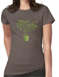 Tree Of Life - Green Womens Fitted T-Shirt