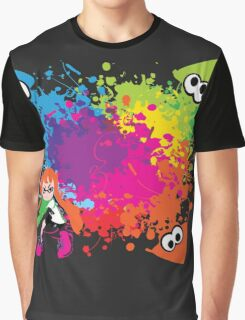 Splatoon - Ink Burst Graphic T-Shirt