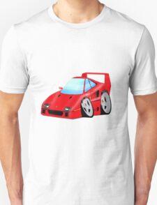 F40 Cartoon Car T-Shirt