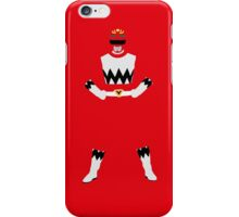 Power Rangers Lost Galaxy Red Ranger iPhone Case iPhone Case/Skin