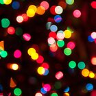 Bokeh - Christmas Light iPhone case by Tamara  Kaylor