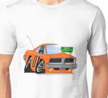 "Dodge Charger ""General Lee"" Cartoon Unisex T-Shirt"