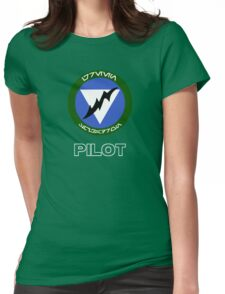 Green Squadron - Star Wars Veteran Series Womens Fitted T-Shirt