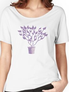 Tree Of Life - Purple Women's Relaxed Fit T-Shirt
