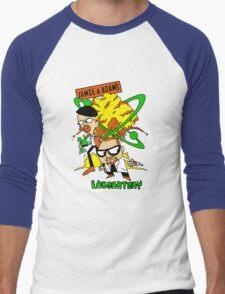 Jamie and Adam's Lab Men's Baseball ¾ T-Shirt