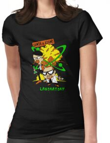 Jamie and Adam's Lab Womens Fitted T-Shirt