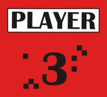 PLAYER 3 One Piece - Short Sleeve