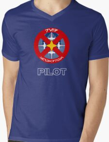 Red Squadron - Star Wars Veteran Series Mens V-Neck T-Shirt