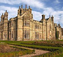Margam Castle by Steve  Liptrot