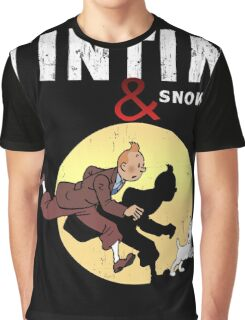 Tintin and Snowy Graphic T-Shirt