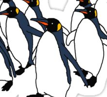 March of Penguins Sticker