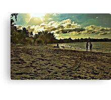 Edge Of An Island Canvas Print