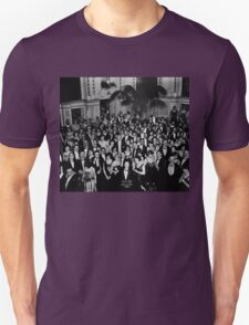 The Shining Overlook Hotel July 4th Ball Black and white T-Shirt