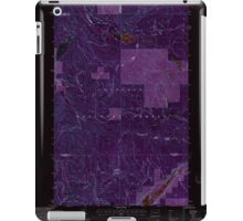 USGS Topo Map Washington State WA Aladdin Mtn 239769 1992 24000 Inverted iPad Case/Skin