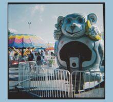 Monkey Ride - Minnesota State Fair - Diana 120mm Photograph Kids Tee
