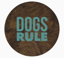 Dogs Rule II One Piece - Long Sleeve