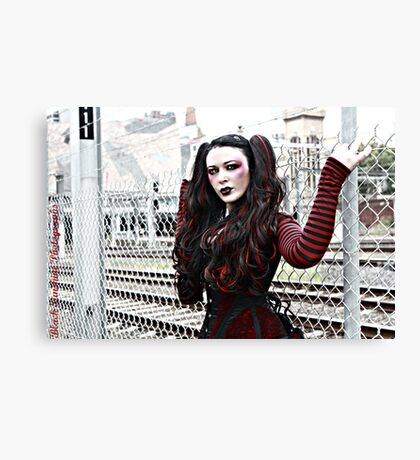 Urban Doll Canvas Print