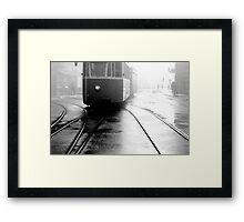 1986 - misty morning Framed Print