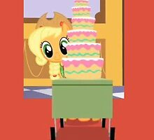 the cake is a lie by Brondo