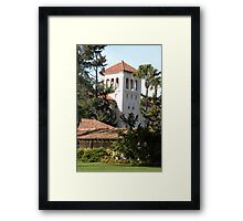 Nobili Hall, Santa Clara University Framed Print