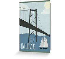 Halifax Canada Greeting Card