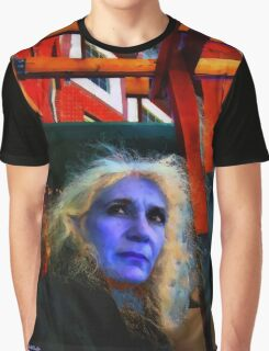 Witch on the Run Graphic T-Shirt