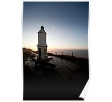 Prime Meridian Marker, Peacehaven Poster