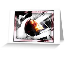 Goblet of Fire Greeting Card