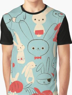 Bunnies Graphic T-Shirt