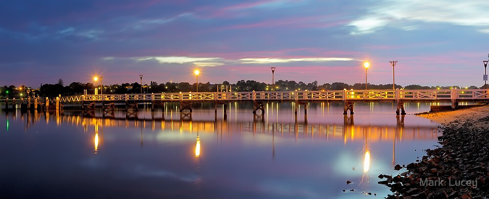 A Jetty Revealed by Mark  Lucey