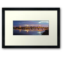 A Jetty Revealed Framed Print