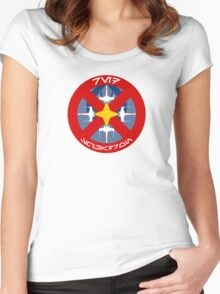 Red Squadron - Insignia Series Women's Fitted Scoop T-Shirt