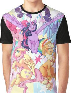 My Little Pony print Graphic T-Shirt