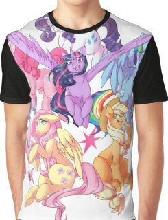 My Little Pony transparent print Graphic T-Shirt