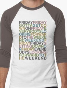Friday - Rebecca Black Men's Baseball ¾ T-Shirt