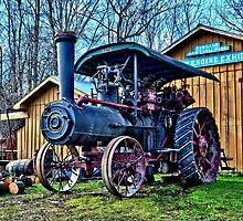 """ Steam Engine - Camillus, New York "" by DeucePhotog"