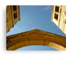 Skyward View from Below  Canvas Print